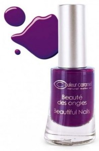 Couleur Caramel lakier do paznokci 60 Electric Plum