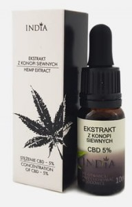 INDIA CBD 5% (ekstrakt) 10ml