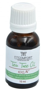 FITCOMFORT TEA TREE OIL 100%