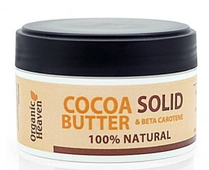 ORGANIC HEAVEN Cocoa Butter Solid - Krem solid do ciała 120 ml