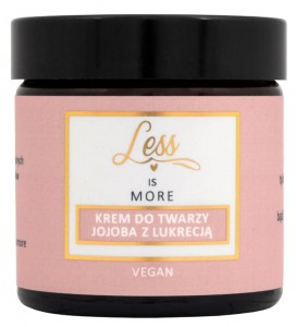 Less IS MORE Jojoba z Lukrecją Odżywczy krem do twarzy (60ml)